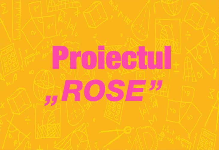 """Proiectul """"Rose"""" pentru Liceele din Sectorul 2"""
