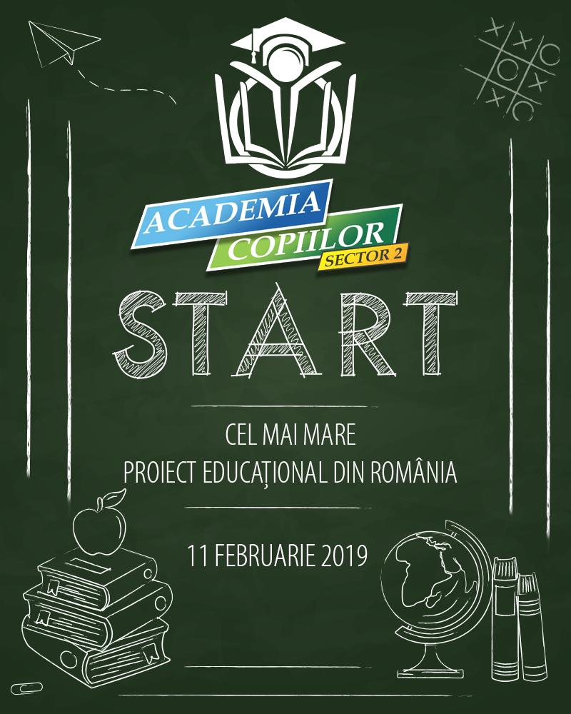 Start Academia Copiilor Sector 2