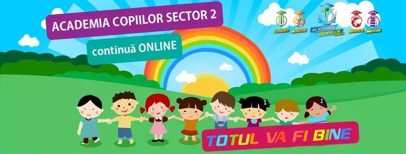 Academia Copiilor Sector 2 continua ONLINE