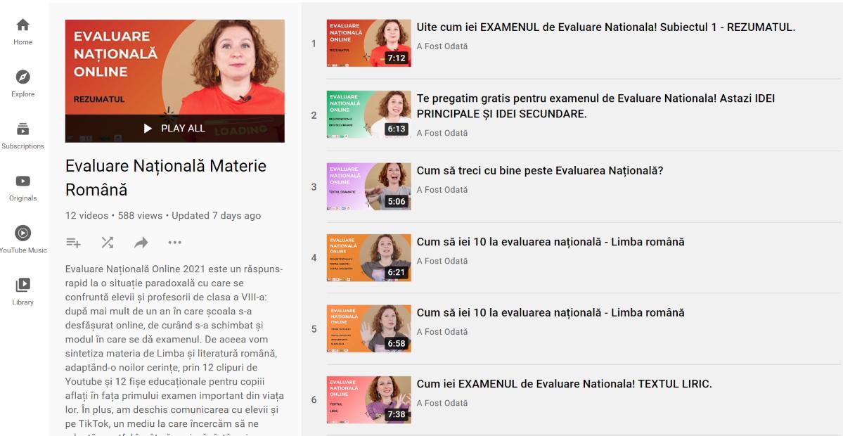 [Resurse] Limba Română pentru Evaluarea Națională
